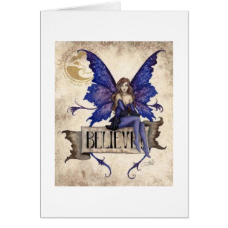 妖精の挨拶状で信じて下さい カード