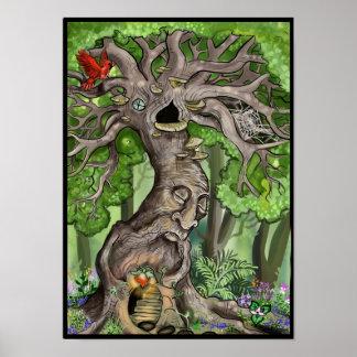 妖精の木の家 ポスター