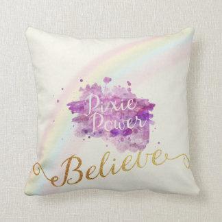 妖精の枕の力で信じて下さい クッション