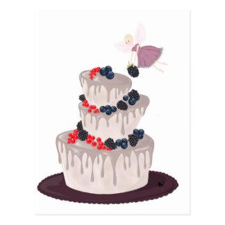 妖精の果実のケーキ ポストカード