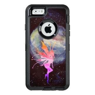 妖精の水彩画の芸術のカスタムなオッターボックスのAppleのiPhone オッターボックスディフェンダーiPhoneケース