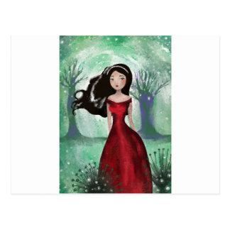 妖精の王国の外 ポストカード