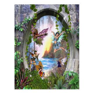 妖精の王国 ポストカード
