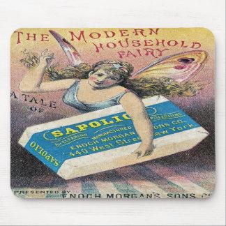 妖精の石鹸のマウスパッド マウスパッド