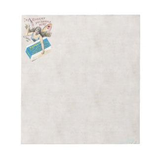 妖精の石鹸のメモ帳 ノートパッド