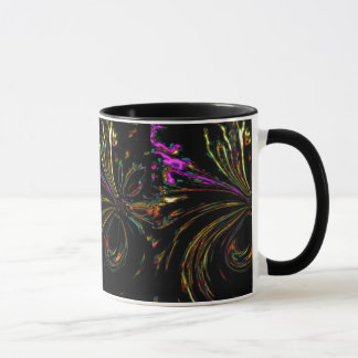 """""""妖精の細い棒""""のコンボのコーヒー・マグ マグカップ"""