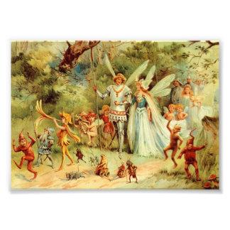 妖精の結婚式 フォトプリント