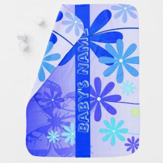 妖精の花の蝶3 ベビー ブランケット