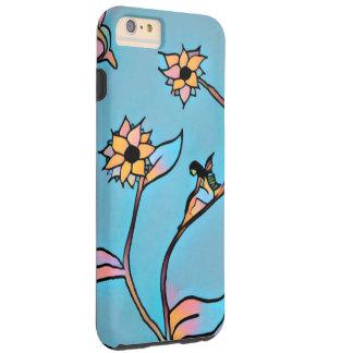 妖精の花のiPhone6ケース(青い) Tough iPhone 6 Plus ケース