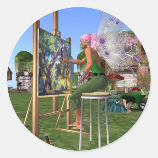 妖精の芸術家 ラウンドシール
