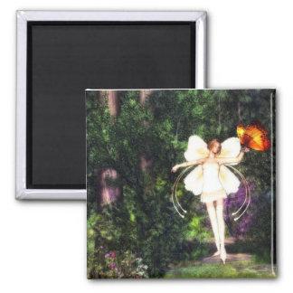 妖精の蝶ダンスの磁石 マグネット