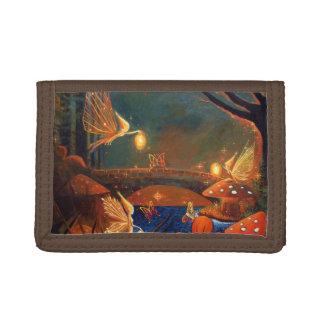 妖精の集まる財布