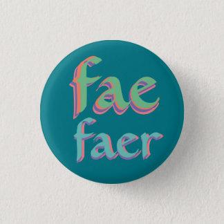 妖精のfaerの代名詞ボタン 3.2cm 丸型バッジ