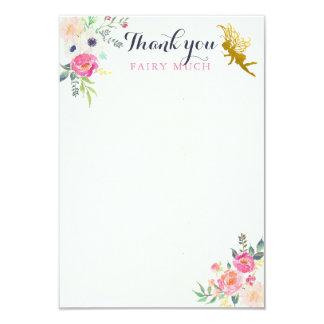 妖精はメッセージカード感謝していしています カード