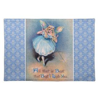 妖精は布のplaematを望みます ランチョンマット