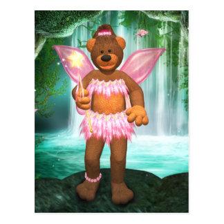 妖精を魅了しているDinkyくま ポストカード