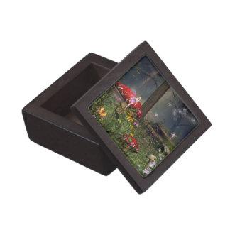 妖精森林宝石類の装身具の記念品箱 ギフトボックス