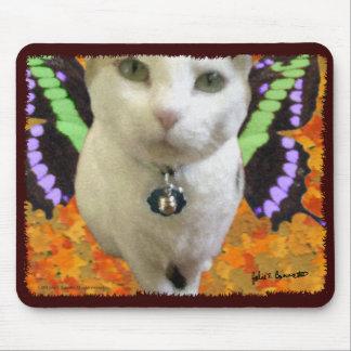 妖精猫のマウスパッド マウスパッド