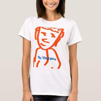 妨害の女性無しの基本的なTシャツ Tシャツ