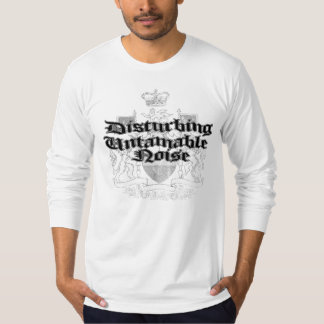 妨害のUntamable騒音 Tシャツ