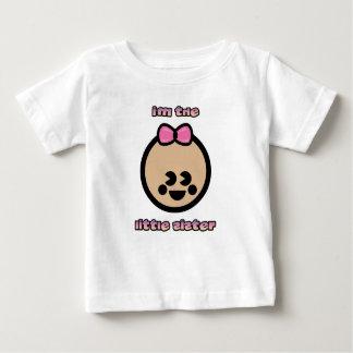 """""""妹""""の幼児Tシャツ ベビーTシャツ"""