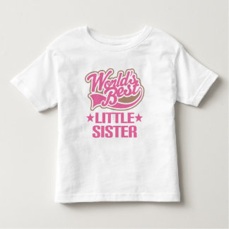 妹(世界のベスト) トドラーTシャツ