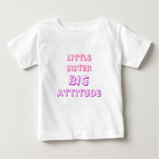妹、大きい態度 ベビーTシャツ