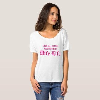 妻の生命 Tシャツ
