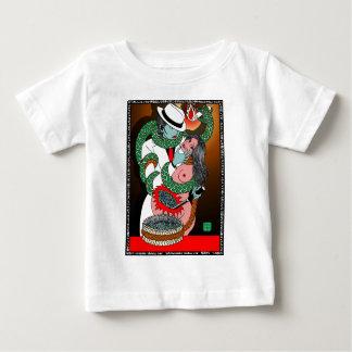 妻掻痒 ベビーTシャツ
