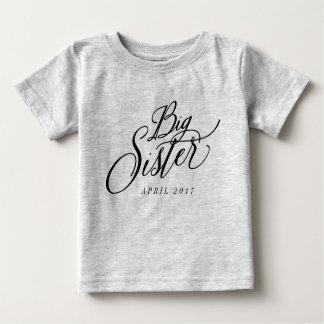 姉のカスタムの支払期日の発表 ベビーTシャツ