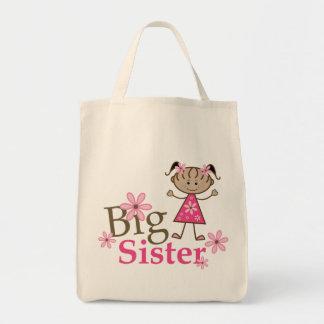 姉の民族の棒の姿の女の子 トートバッグ