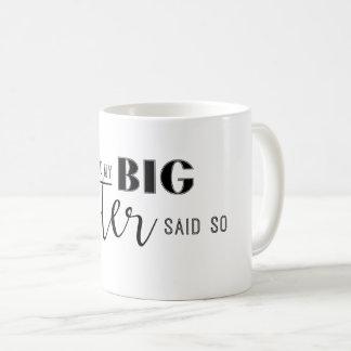 姉はそう言いました コーヒーマグカップ