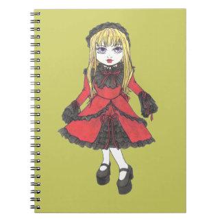 姉妹のルビーのノート ノートブック
