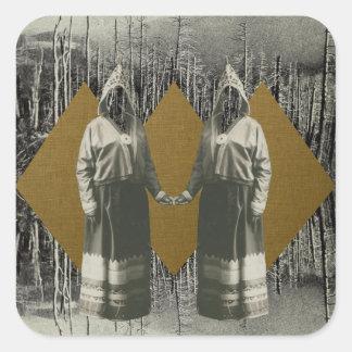 姉妹の森林 スクエアシール
