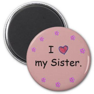 姉妹の磁石 マグネット