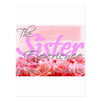 姉妹の経験 ポストカード