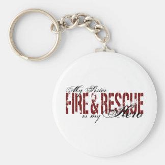 姉妹の英雄-火及び救助 キーホルダー