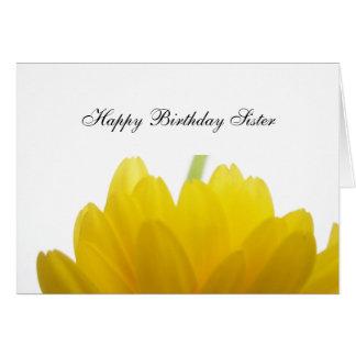 姉妹の誕生日の挨拶 カード