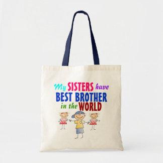 姉妹は最も最高のな兄弟のバッグを持っています トートバッグ