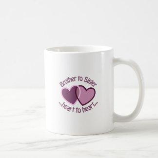 姉妹への兄弟 コーヒーマグカップ
