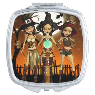 姉妹3の魅了された魔法使いのコンパクトの鏡
