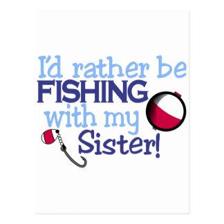 姉妹 ポストカード