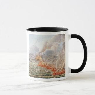 始まったヴェスヴィオの噴火の眺め マグカップ