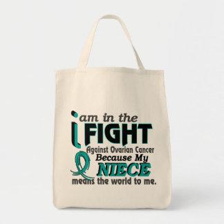 姪は私に世界を卵巣癌意味します トートバッグ
