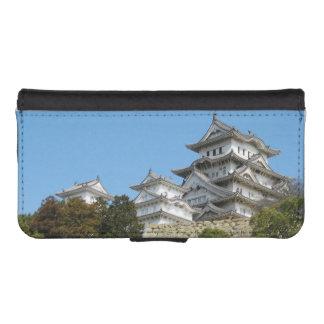 姫路の城の姫路城、兵庫、日本 iPhoneSE/5/5sウォレットケース