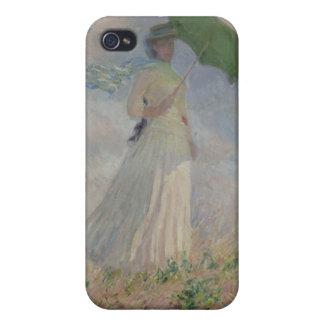 姿のアウトドア(正しく直面する) Monetの勉強 iPhone 4/4Sケース