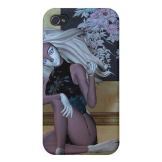 姿勢のバニー iPhone 4/4S COVER