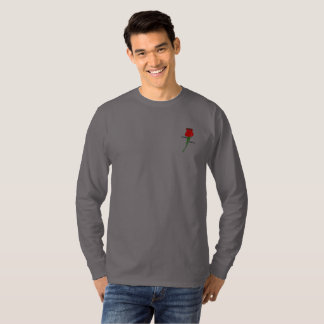 威信の衣類の長袖のティーの灰色 Tシャツ