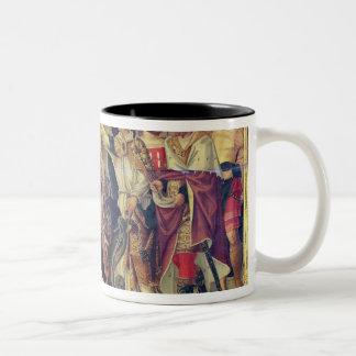 威厳があるな1294年に法皇のCelestine V即位 ツートーンマグカップ