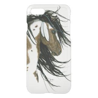 威厳のあるなまだら馬の馬の細胞の場合b Bihrle iPhone 8/7 ケース